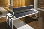 Die langlebige, designorientierte Sitzbank