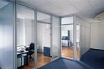 Das Trennwandsystem ModulASS gliedert Flächen in sinnvoll miteinander verknüpfte Räume.