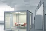 Mit dem flexiblen Raum-in-Raum-System CUBE LINE reagieren Sie rasch auf Veränderungen und werden neuen Anforderungen schnell gerecht.