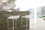Der Barhocker BATIDA beeindruckt durch seine schmale Silhouette mit moderner eleganz.