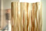 Design-Holz-Raumteiler