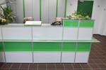 Passend für Chefzimmer, Personalräume, Medien-, Besprechungs- und Konferenzräume, Kommunikationszonen, Rückzugs-, Lounge- und Empfangsbereiche: Möbel aus Aluminium