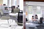 Die Stuhlfamilie Duera erfüllt alle Anforderungen an Anpassung für Körperform und Arbeitstätigkeit.